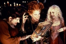 "The Sanderson Sisters in ""Hocus Pocus"" Walt Disney Pictures"