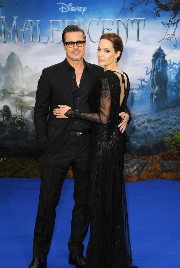 Brad Pitt and Angelina Jolie Eamonn M. McCormack/Getty Images