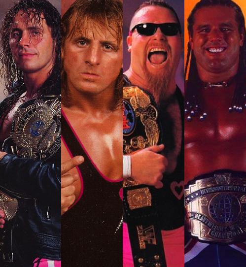 Bret Hart, Owen Hart, Jim