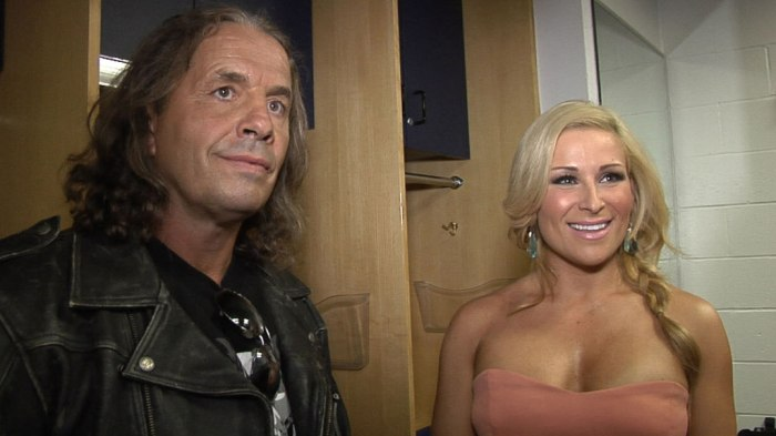 Bret hart and Natalya WWE