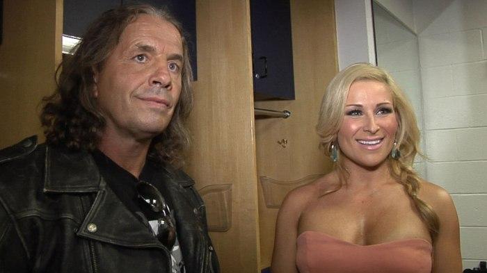 Bret hart and Natalya WWE