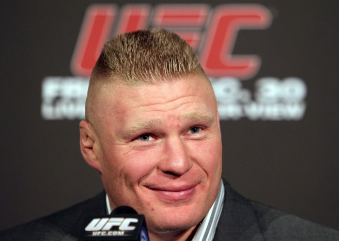 Brock Lesnar  Getty Images / www.ufc.com