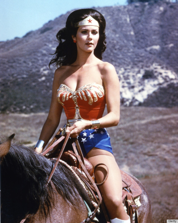 Lynda Carter as Diana Prince / Wonder Woman Getty Images / Warner Brothers Television
