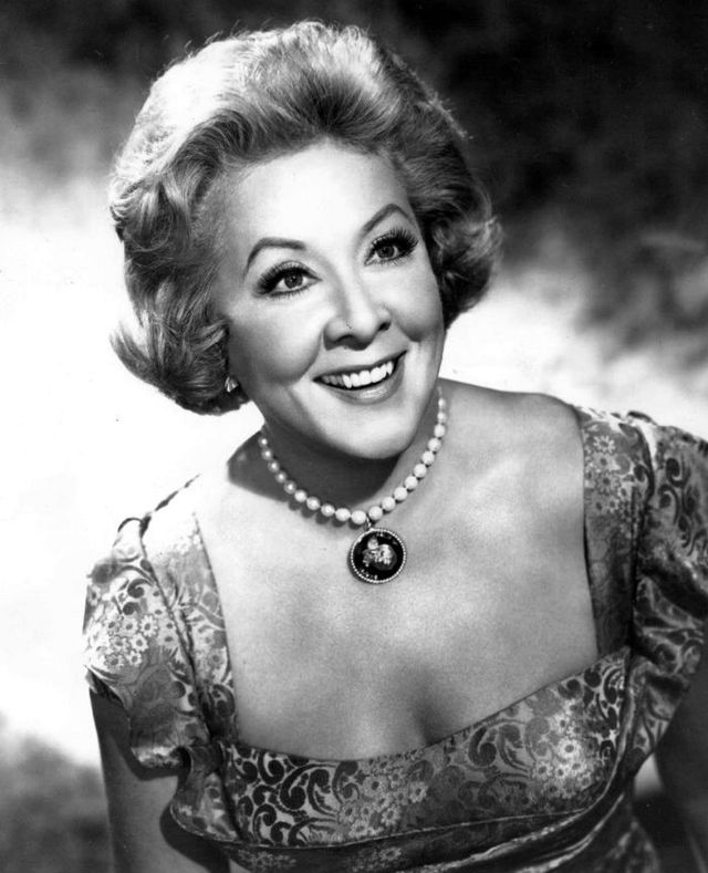 Vivian Vance Bureau of Industrial Service for CBS-TV