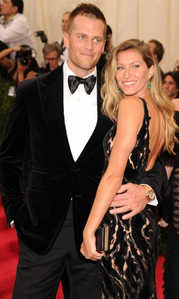 Tom Brady and Gisele Bundchen  Kevin Mazur/WireImage