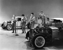 "The Beach Boys on ""The Ed Sullivan Show"" on September 27, 1965 CBS"