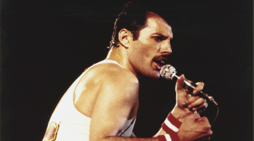 Freddie Mercury Getty Images