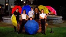 """The cast of """"Friends"""" in Season 1 NBC"""