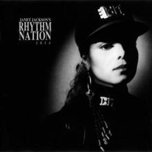 """Janet Jackson's Rhythm Nation 1814"" - Janet Jackson A&M Records"