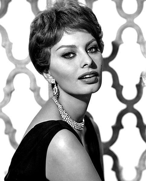 Sophia Loren in 1959 Paul A. Hesse Studios