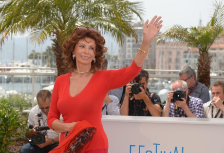 Sophia Loren in 2014 Photo by Dominique Charriau - Le Film Franc  / Getty Images