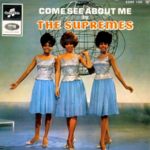 "The Supremes - ""Come See About Me"" Motown Records"