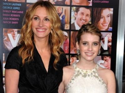 Julia Roberts and Emma Roberts WireImage