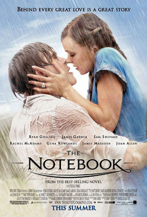 "Theatrical poster for ""The Notebook"" New Line Cinema"