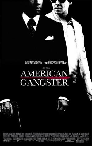 "Theatrical poster for 2007's ""American Gangster"" Universal Pictures"