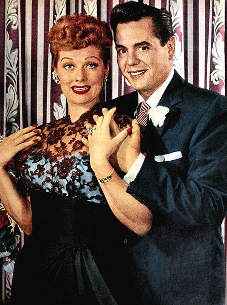 Lucille Ball and Desi Arnaz in the 1950s  TV Radio Mirror