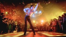 "Screen grab of John Travolta in ""Saturday Night Fever"" Paramount Pictures"