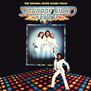 "Cover art for the soundtrack for ""Saturday Night Fever""  RSO / Polydor / Reprise"