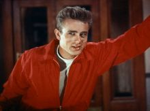 "Still of James Dean in ""Rebel Without a Cause"" Warner Brothers/Sunset Boulevard/Corbis"