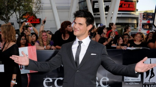 Taylor Lautner Getty Images