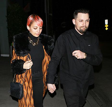 Nicole Richie alongside Joel Madden AKM-GSI