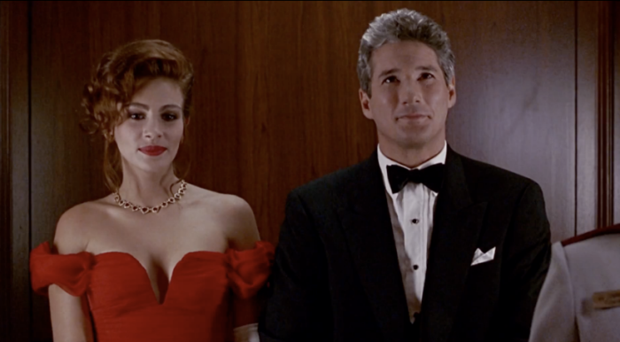 "Julia Roberts and Richard Gere in ""Pretty Woman"" Touchstone Pictures"