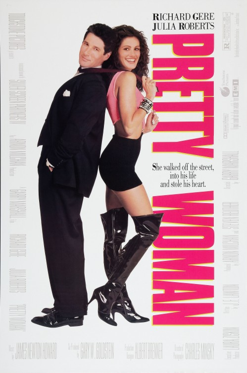 "Theatrical poster for ""Pretty Woman"" Touchstone Pictures"