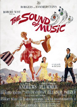 "Theatrical poster for ""The Sound of Music"" 20th Century Fox"