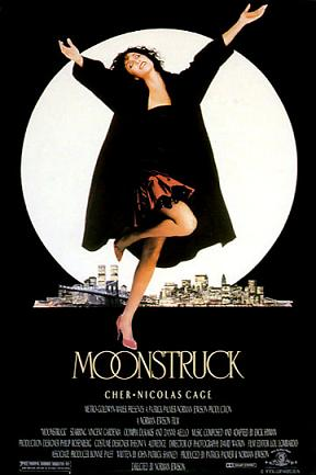 "Theatrical poster for ""Moonstruck"" Metro-Goldwyn-Mayer"