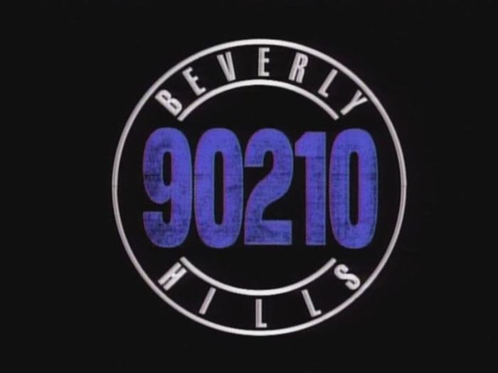 "Logo for ""Beverly Hills, 90210"" Spelling Television"