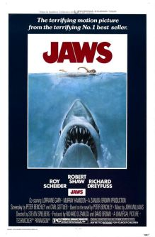 """Theatrical poster for """"Jaws"""" Universal Pictures"""