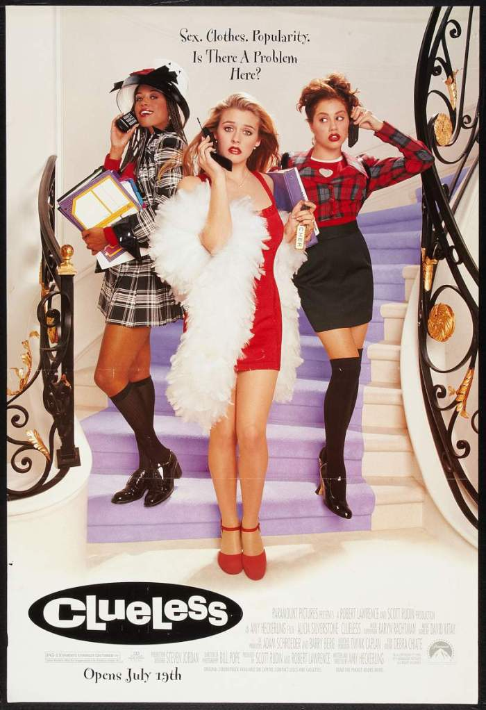 Poster for the movie 'Clueless,' 1995. (Photo by Buyenlarge/Getty Images)