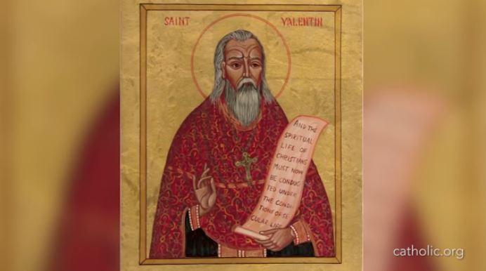 Saint Valentine www.catholic.org