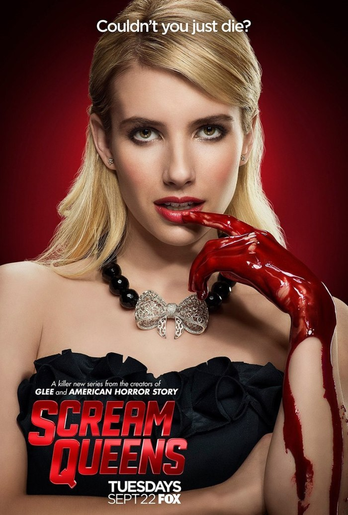 """Scream Queens"" promotional poster Fox"